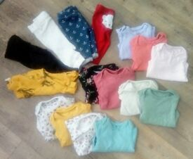 Baby Girl 0-1 Month Clothing Bundle