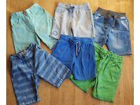Boys age 3-4 years shorts bundle ex con