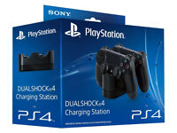 SONY PLAYSTATION PS4 DUALSHOCK 4 CHARGING STATION DOCK CHARGE 2 AT THE SAME TIME