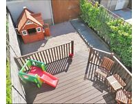 Children's wooden playhouse - Ex Costco