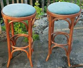 Two tall stools