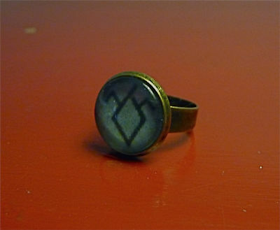 Twin Peaks Black Lodge Ring David Lynch