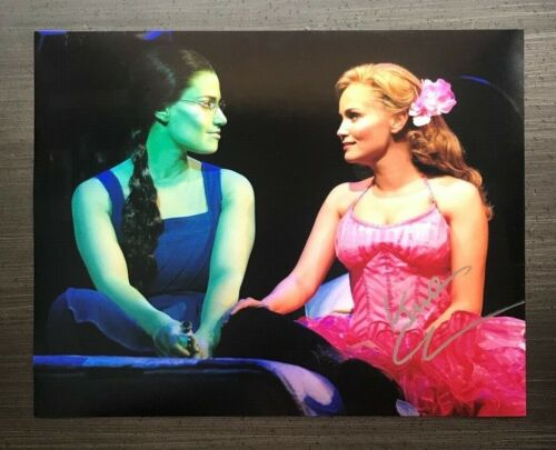* KRISTIN CHENOWETH * signed autographed 11x14 photo * WICKED * 1