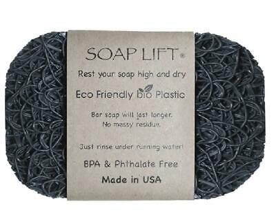 "Bone 4-1//2/"" X 3/"" X 1//4/"" Soap Lift Sl02bon Bar Soap Saver Plastic"