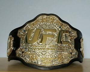 UFC replica championship title belt