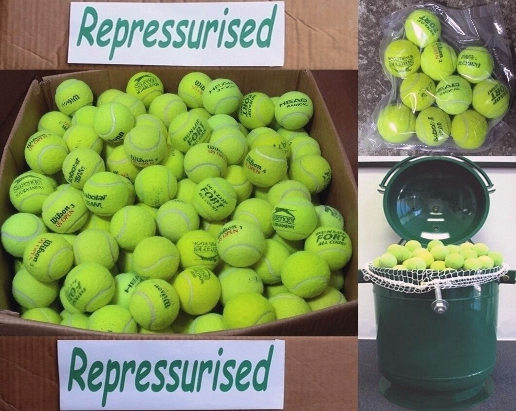 Used Tennis Balls REPRESSURISED & VACUUM SEALED 15 20 30 50 Ball Games / Dog Toy
