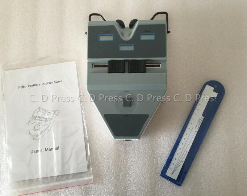 Brand New Digital Pupilometer Optical PD Meter LCD Display