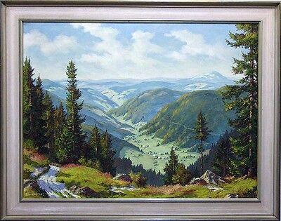 0816-Blick ins Wiesetal, von F. Schickedanz, 20. Jhd.