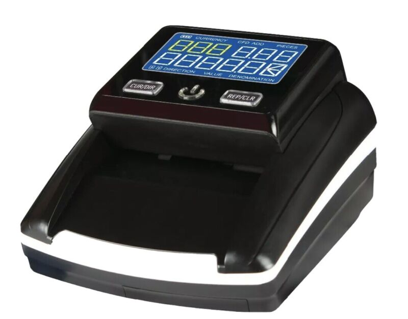 Khippus K630 Counterfeit Bill Detector for US Dollars. UV, MG, IR, paper size.
