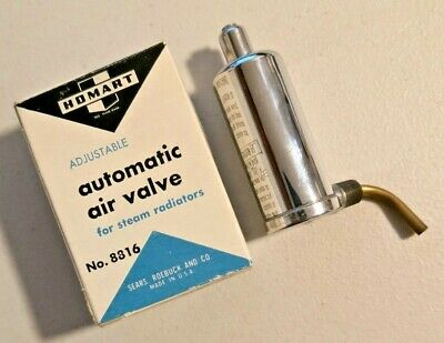 Homart ADJUSTABLE STEAM RADIATOR AIR VALVES REPLACES MOST AIR VALVES -1297