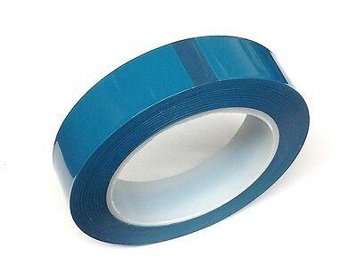 1 Inch High Temp Powder Coating Anodizing E-coating Polyester Masking Tape Blue
