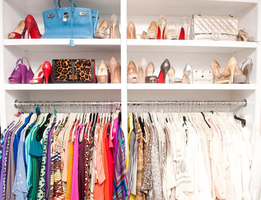 A Fashionista's Closet