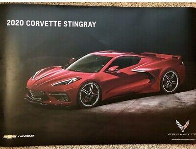 Red 2020 Corvette C8 Stingray Unisex Hoodie