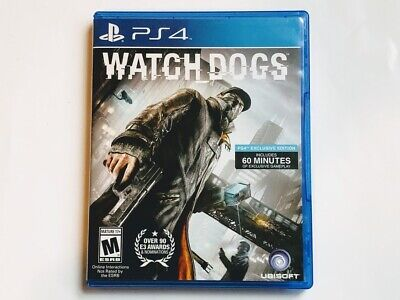 WATCH DOGS PlayStation 4, 2014 PS4 Complete Mint for sale  Shipping to Nigeria