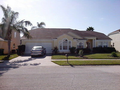 ORLANDO FLORIDA KISSIMMEE DISNEY VACATION RENTAL POOL VILLA - 4 Bed. 3 Bath