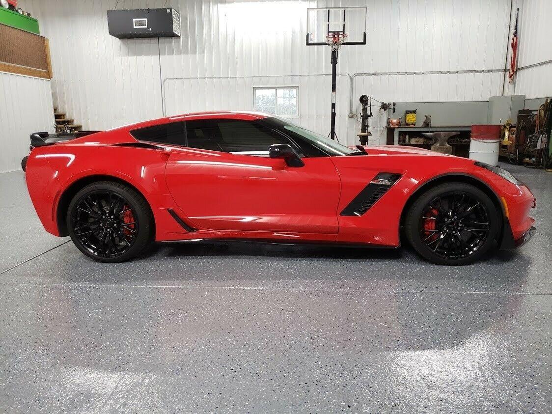 2016 Red Chevrolet Corvette Z06  | C7 Corvette Photo 1