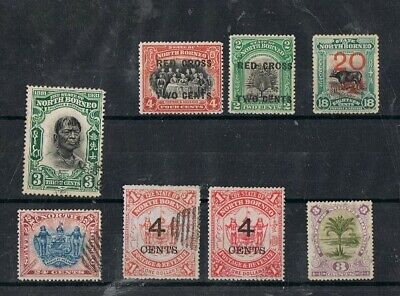 NORTH BORNEO - Lot of old stamps
