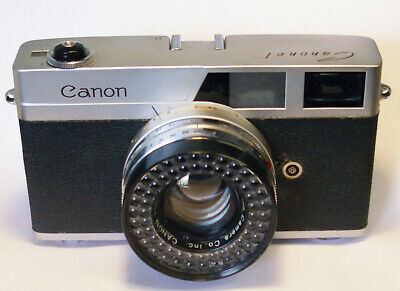 Canon Canonet First Model Vintage 35mm Rangefinder Camera