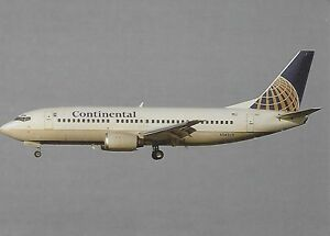 CONTINENTAL AIRLINES (USA) - BOEING 737-3T0 - N14325 - POSTCARD - France - État : Neuf: Objet neuf et intact, n'ayant jamais servi, non ouvert. Consulter l'annonce du vendeur pour avoir plus de détails. ... Aircraft: Boeing Airline: Continental Airlines - France