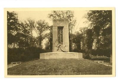 Compiegne Forest, France Monument du Matin  unused  postcard c1940