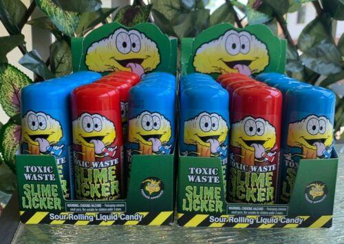 Toxic Waste Slime Licker Sour Lickers *SEALED* Strawberry OR Blue Razz TIKTOK