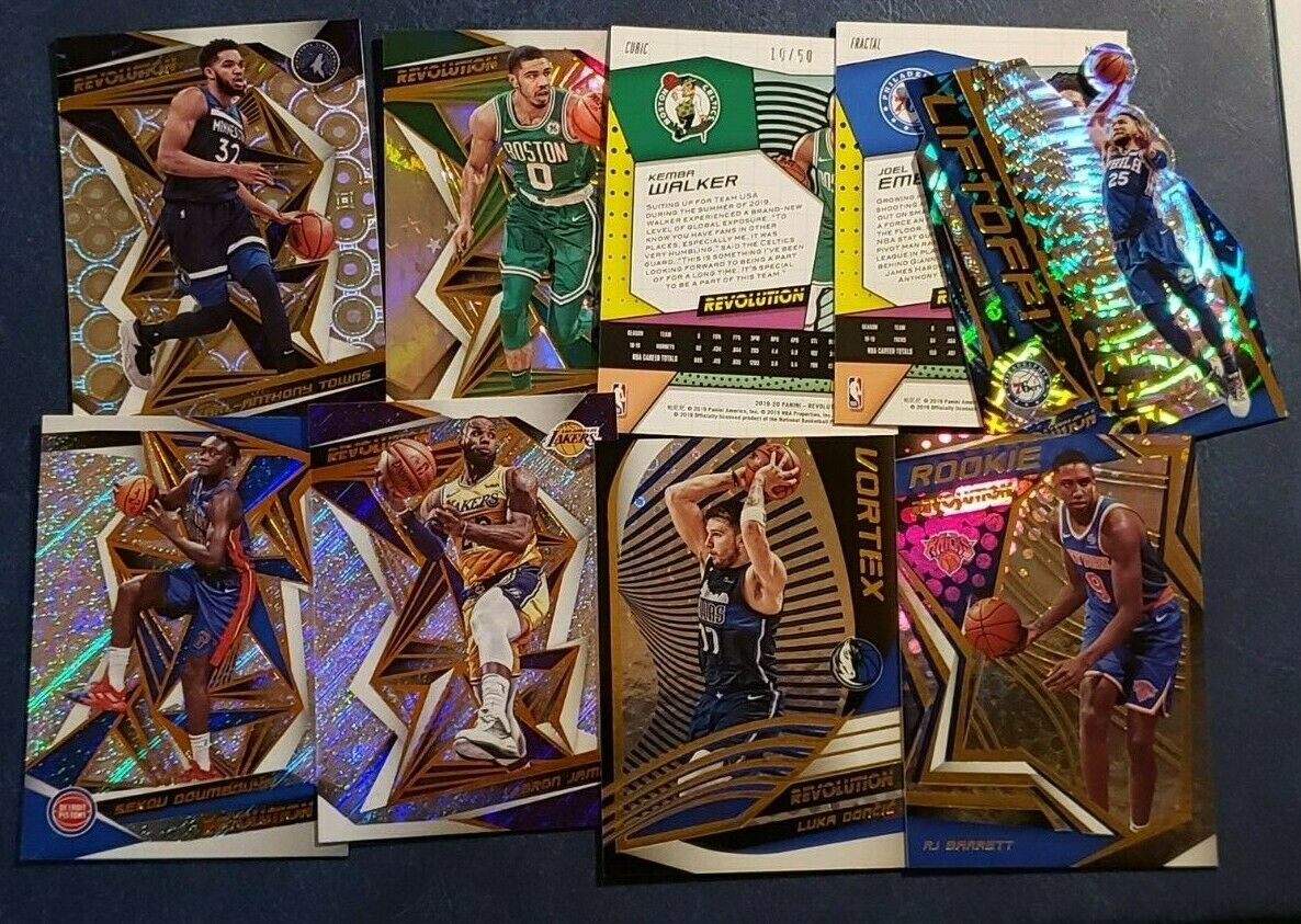 2019-20 Panini Revolution Basketball Veteran Rookie Base Inserts Parallel U Pick