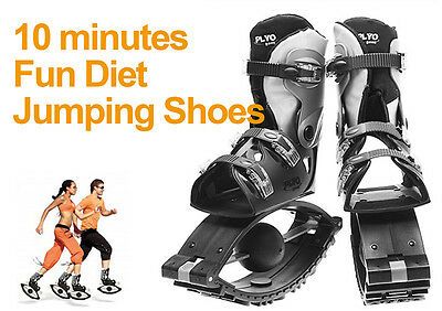"""*Made in Korea* """"PLYO JUMPING SHOES"""" Fun Diet Exercise Sports Leisure EMS"""
