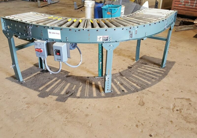 Hytrol Belt Driven Semi-Circular Conveyor Section