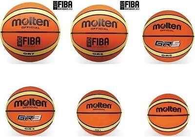 Molten Basketball, Trainingsball, BGR Größe 7, 6, 5, 3, 1,
