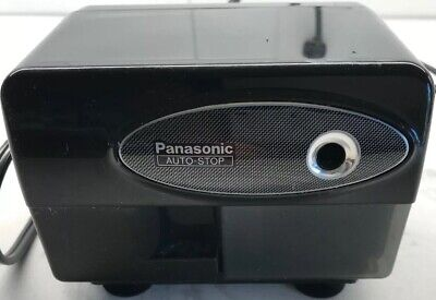 Panasonic Kp-310 Auto-stop Black Electric Pencil Sharpener Works Great