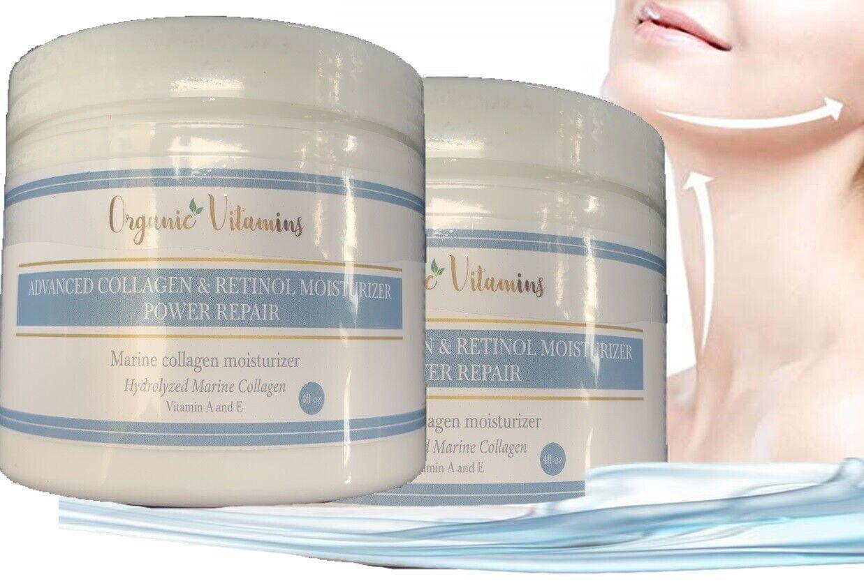 Crema de Vitamina A, E y C Para La Cara y Piel Aumenta Produccion de Colageno 2