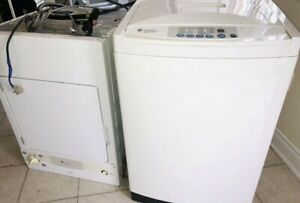 Apartment GE Spacemaker washer dryer stackable ...can Deliver