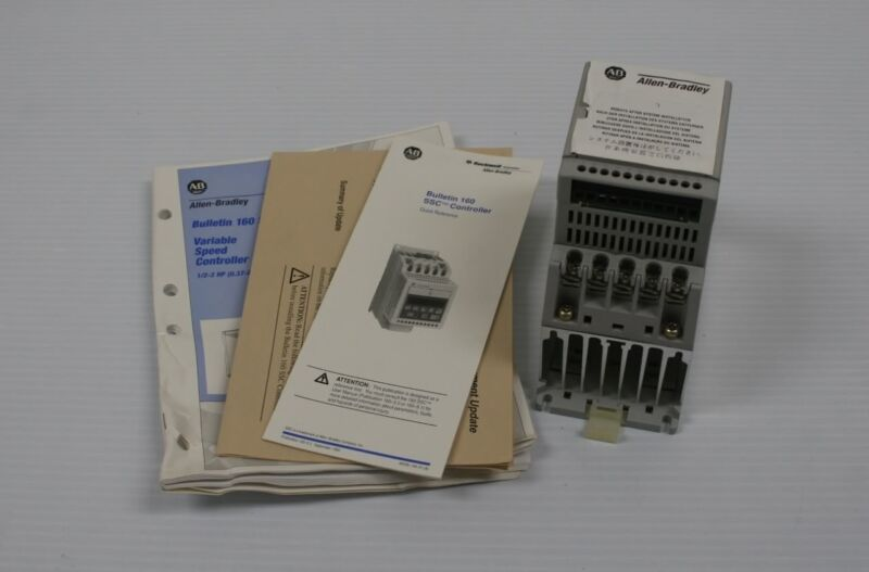 New A-B Allen Bradley 160-AA02NSF1 Series A Variable Speed Controller
