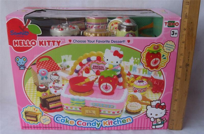 HELLO KITTY CAKE CANDY KITCHEN PLAYSET NEW TOHO SANRIO