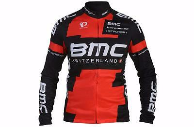 Authentic Pearl Izumi BMC Racing Team Thermal Long Sleeve Jersey Large 213835