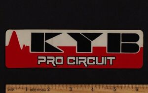 KYB PRO CIRCUIT Vintage Motocross STICKER Decal Suzuki Yamaha Kawasaki Forks