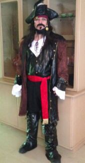 Adult Pirate Costume size XXL . $60 negotiable Beckenham Gosnells Area Preview