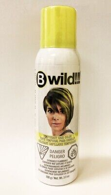 Jerome Russell B Wild Temporary Hair Color Spray(3.5 oz)- Leopard Yellow (97802) (Yellow Hair Spray)
