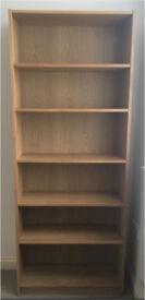 Ikea billy bookcase oak