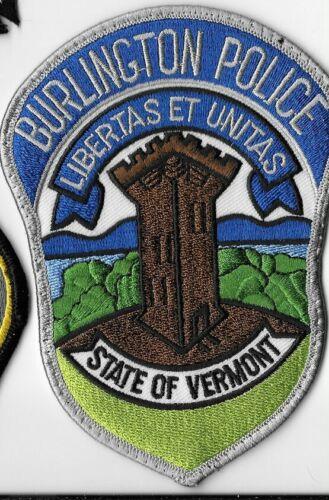 BURLINGTON VERMONT VT POLICE DEPT BPD PD (FIRE) CASTLE LIBERTAS ET UNITAS