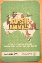 Woolworths Aussie Animal Cards Cockatoo Cardinia Area Preview