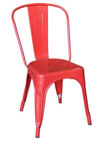Tolix High Back Chair (Replica Xavier Pauchard) Osborne Park Stirling Area Preview