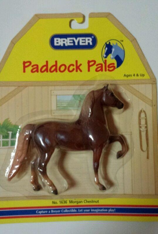 Breyer Paddock Pals Morgan Chestnut  Horse 1636 New in Package