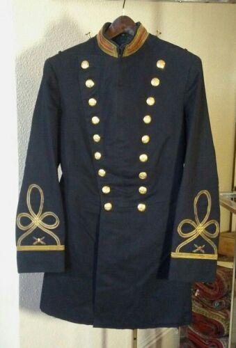 US Army 1902 Pattern New York State Coastal Artillery Frock Coat for Captain
