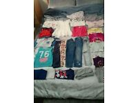 Girls 25 piece 3-4 year bundle of clothes