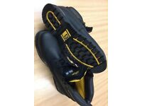 Caterpillar safety boots size 12