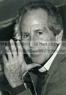 SCHAUSPIELER Gerhard VESPERMANN - OriginalFoto VINTAGE - FOTO: Ingo BARTH