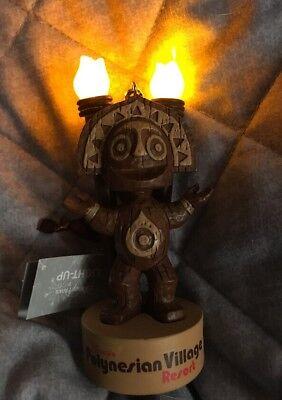 Polynesian Resort Light Up Tiki God Ornament Disney World Parks NEW Pele