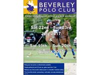Beverley Polo Club Anniversary Tournament