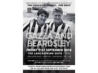 Paul Gascoigne and Peter Beardsley Night